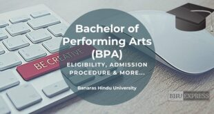 Bachelor of Performing Arts (BPA) from BHU